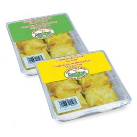 Duopack promo - Feuilleté de chèvre miel + fines herbes 4 X 50 gr