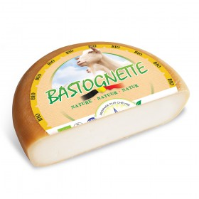 1/2 bastognette - biological goat cheese - +/- 1,5Kg
