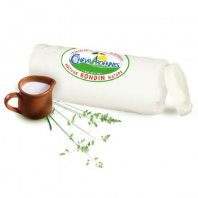 Fresh goat cheese log - Nature - 1kg