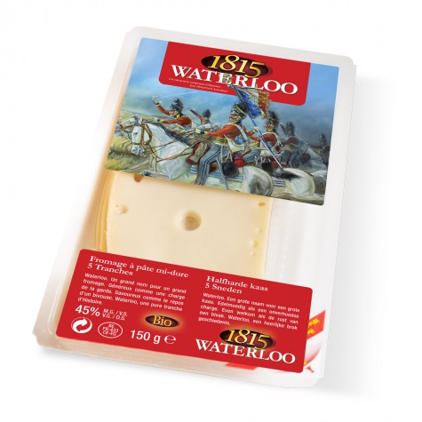 Waterloo 1815 bio tranches (maasdam) 150 gr