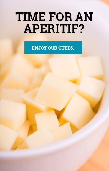 Cubes de fromage apéritif